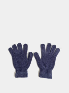 Modré dámske rukavice Haily´s Jenny
