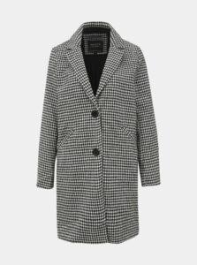 Šedý dámsky vzorovaný kabát Haily´s Selly