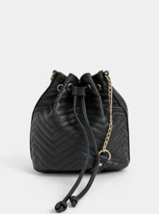 Čierna vaková crossbody kabelka Haily´s Tina