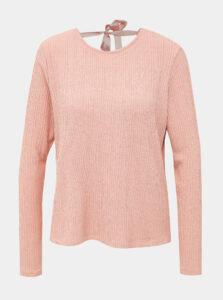 Rúžový sveter ONLY Earlene