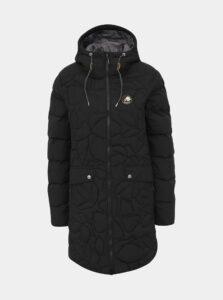Čierny dámsky prešívaný funkčný zimný kabát Maloja Praüras