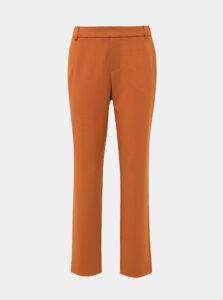 Horčicové nohavice VILA Goldi
