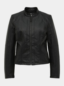 Čierna koženková bunda Noisy May Dacy