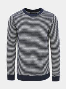 Modrý pruhovaný sveter Jack & Jones Sand