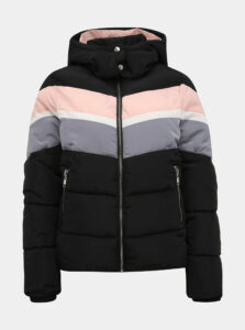 Čierna dámska prešívaná zimná bunda Haily´s Vera