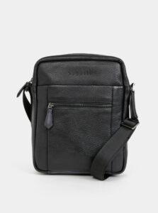 Čierna crossbody taška bugatti