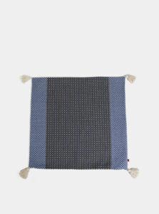 Modro-šedá vzorovaná návliečka na vankúš Tranquillo Jens