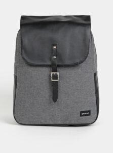 Čierno-šedý dámsky batoh Spiral Parker