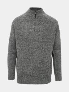 Šedý sveter Burton Menswear London