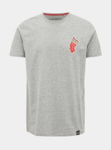 Šedé tričko s nášivkou Shine Original