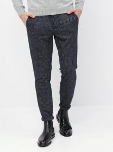Šedo-modré kockované nohavice ONLY & SONS Mark