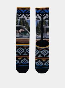 Čierno-modré pánske ponožky XPOOOS