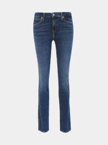 Modré slim fit rifle Calvin Klein Jeans
