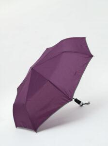 Fialový skladací vystrelovací dáždnik so svetlom Something Special