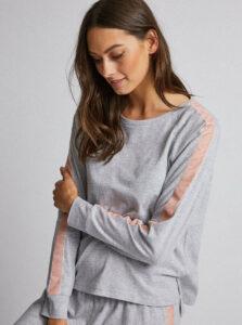 Šedé pyžamové tričko Dorothy Perkins