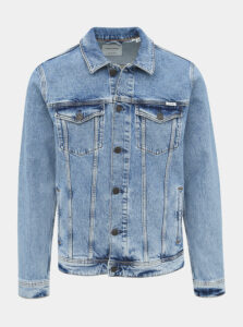Svetlomodrá rifľová bunda Jack & Jones Jean