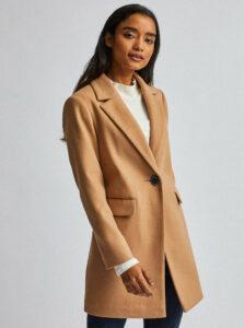 Béžový kabát Dorothy Perkins Petite