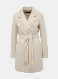 Krémový kabát VERO MODA Verodona