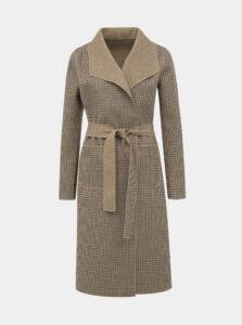 Hnedý obojstranný kabát VILA Juice
