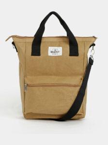 Hnedá kabelka Meatfly 15 l