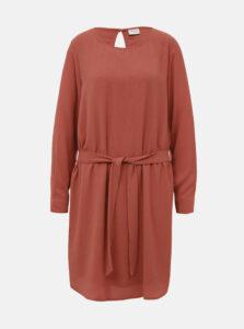 Tehlové šaty Jacqueline de Yong Amanda