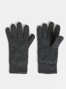 Šedé rukavice Burton Menswear London