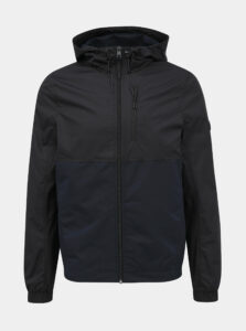 Modro-čierna pánska bunda Tom Tailor Denim