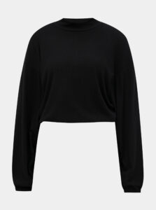 Čierny krátky ľahký sveter TALLY WEiJL Lola