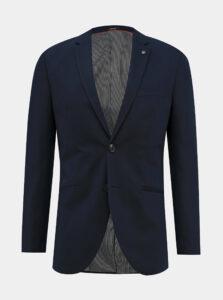 Tmavomodré oblekové slim fit sako Jack & Jones Vincent