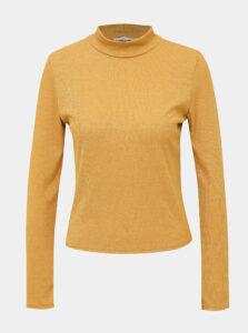 Horčicové dámske tričko Haily´s Mary
