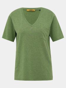 Zelené dámske basic tričko ZOOT Baseline Bianca