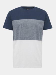 Bielo-modré pánske tričko ZOOT James