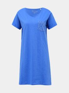 Modrá nočná košeľa M&Co