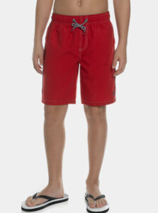 Červené chlapčenské plavky SAM 73