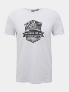 Biele pánske tričko killtec Lapesco