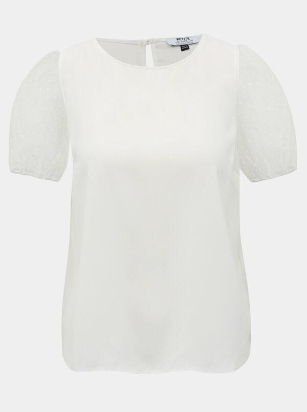 Biela blúzka Dorothy Perkins Petite