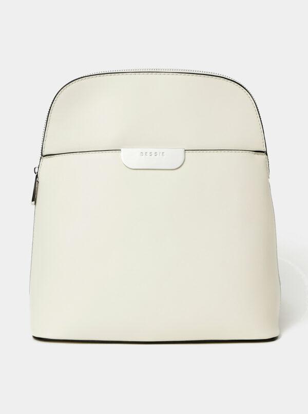 Krémový batoh Bessie London