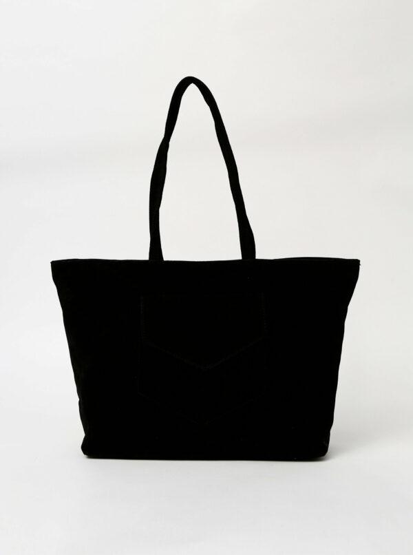 Čierna kabelka v semišovej úprave Haily´s Shoppy