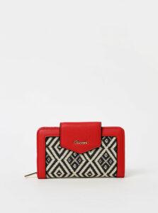 Červená dámska peňaženka Gionni