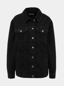 Čierna dámska rifľová bunda Alcott
