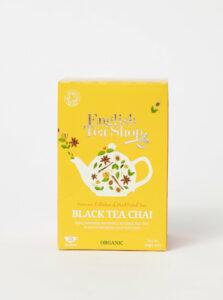 Bio čierny čaj so škoricou, kardamonom, muškátovým kvetom, zázvorom a sladkým drievkom English Tea Shop