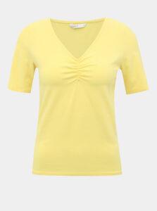 Svetložlté tričko ONLY Sally