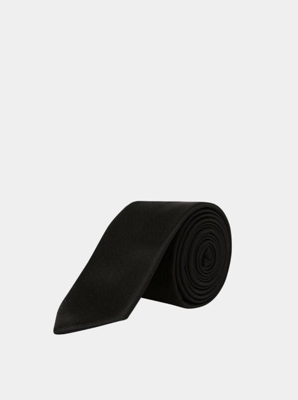 Čierna kravata Burton Menswear London