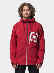 Červená pánska vodeodpudivá bunda Horsefeathers Perch Isaac