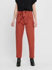 Tehlové nohavice s vreckami Jacqueline de Yong Selma