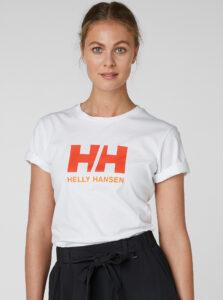 Biele dámske tričko s potlačou HELLY HANSEN Logo