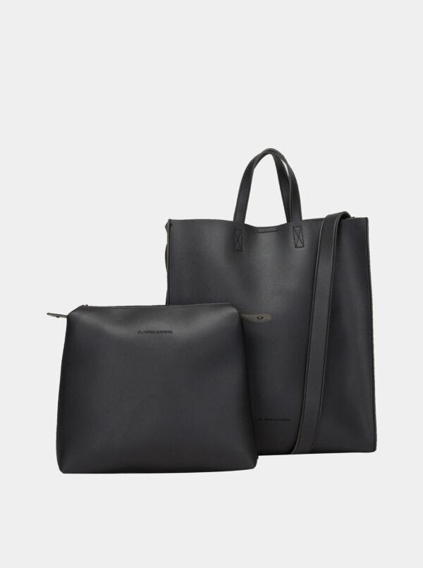 Čierna kabelka s odnímateľným púzdrom Claudia Canova Retta