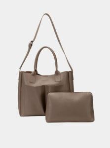 Béžová kabelka s odnímateľným púzdrom Claudia Canova Megan