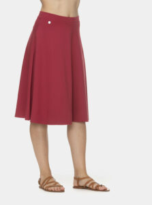 Červená sukňa Ragwear Gorra