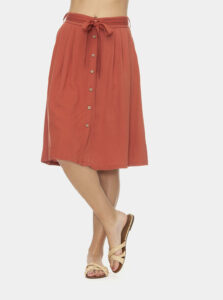 Oranžová sukňa Ragwear Lejla